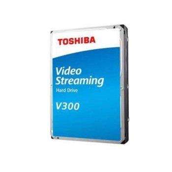 """Твърд диск 3TB Toshiba V300, SATA 6Gb/s, 5940 rpm, 64MB, 3.5"""" (8.89cm), Bulk image"""