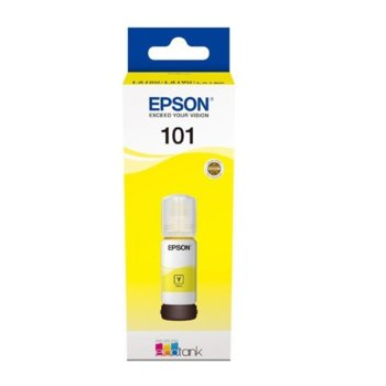Мастило за Epson L4150/L4160/L6160/L6170/L6190 WiFi MFP - Yellow - P№ C13T03V44A - 70ml - 6 000k image