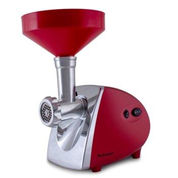 Месомелачка Rohnson R-5414, обратно въртяща функция, приставка за доматен сок, 1400W, червена  image