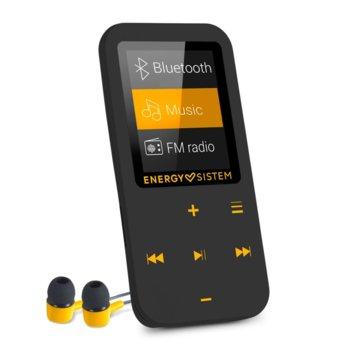 MP4 плейър Energy Тouch MP4 Bluetooth Amber, 16GB, 1.8 inch LCD 160х128 пиксела, слот за microSDHC, черен image