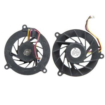 Вентилатор за лаптоп Asus, съвместим с F3 - (3 кабела) image