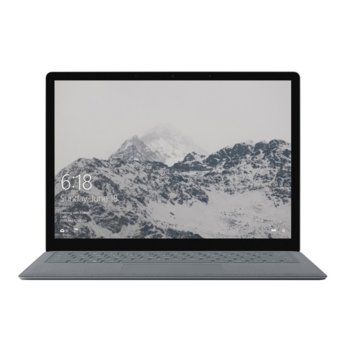 "Лаптоп Microsoft Surface Laptop 2 (LQN-00012)(сребрист), четириядрен Kaby Lake R Intel Core i5-8250U 1.6/3.4 GHz, 13.5"" (34.29 cm) WQHD multi-touch Corning Gorilla Glass 3 Glare PixelSense Display, (mDP), 8GB, 256GB SSD, 1x USB 3.0, Windows 10  image"