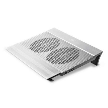 "Стойка за лаптоп DeepCool DP-N8, до 17"", охлаждаща, сребриста image"