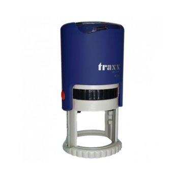 Автоматичен печат Traxx 9130 син, Ф30 mm, кръгъл image
