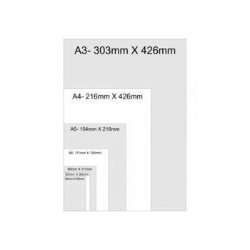 Фолио за ламиниране, размер A5, 216x303 mm, 80 mic, 100бр. image