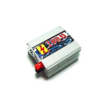 Инвертор YH-6200USB, 200W, от DC 12V към AC 220V, USB порт, за кола image