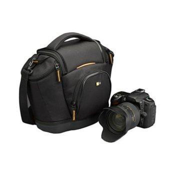 Чанта за фотоапарат Case Logic SLRC-202, черна, водоустойчива image
