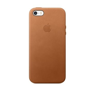 Apple iPhone SE Leather Case - Saddle Brown product