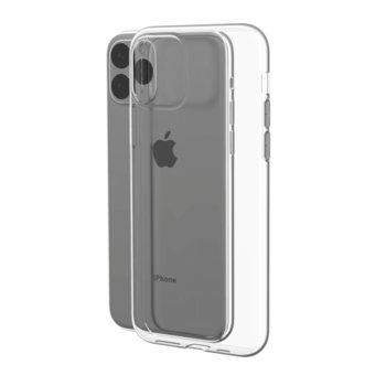 Калъф за Apple iPhone 11 Pro Max, силиконов, Devia Naked, прозрачен image