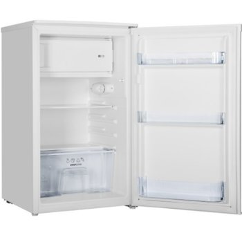 Хладилник с камера Gorenje RB391PW4, клас F, 98 л. общ обем, свободностоящ, 165 kWh/годишно разход на енергия, бял image