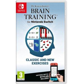 Игра за конзола Dr Kawashima's Brain Training, за Nintendo Switch image