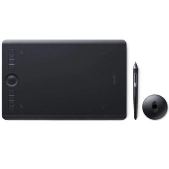 Графичен таблет Wacom Intuos Pro M North (черен)(PTH-660-N), Bluetooth, 5080 lpi, 8192 нива на натиск image