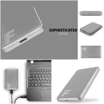 """Кутия 2.5""""(6.35 cm) AXAGON EE25-F6G, за SSD и HDD диск 2.5"""", USB 3.0, SATA, сива image"""