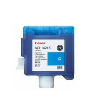 Мастило за Canon imagePROGRAF W8200, W8400 - Cyan - BCI1421C - PN: 8368A001 - 330ml image