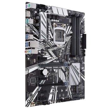 Дънна платка Asus PRIME Z390-P, Z390, LGA1151, DDR4, PCI-Е (DP&HDMI)(CFX), 4x SATA 6Gb/s, 2x M.2 sockets, 2x USB 3.1 Gen2, 4x USB 3.1 Gen1, ATX image