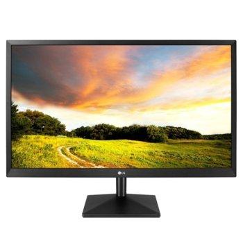 """Монитор LG 27MK400H, 27"""" (68.58 cm) TN панел, Full HD, 2ms, 300cd/m2, HDMI, D-Sub image"""