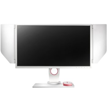 "Монитор BenQ Zowie XL2546 White Divina Pink, 24.5"" (62.23 cm), TN панел, 240 Hz, Full HD, 1ms, 12 000 000:1, 320 cd/m², Display Port, 2x HDMI, DVI, USB, бързи бутони image"