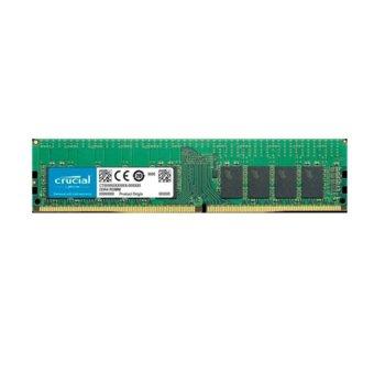 Памет 16GB DDR4 2933MHz, Crucial CT16G4RFD8293, Registered, 1.2V, памет за сървър image