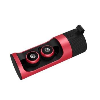 Слушалки Nillkin TW004, безжични, Bluetooth, до 13 часа време на работа, шумопотискане, IPX5, червени image