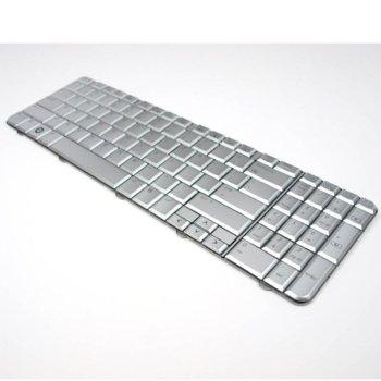 Клавиатура за HP Compaq CQ60 G60, US, сребрист image