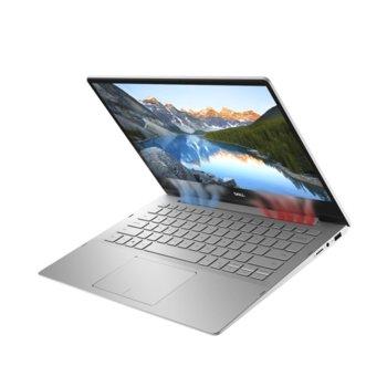 "Лаптоп Dell Inspiron 7391 2in1 (5397184373286)(сребрист), четириядрен Comet Lake Intel Core i7-10510U 1.8/4.9 GHz, 13.3"" (33.78 cm) Full HD Touchscreen Glare Display, (HDMI), 16GB, 512GB SSD, 1x USB 3.1 Type C, Windows 10 Home image"
