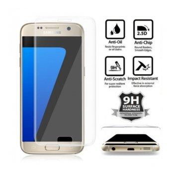 Протектор от закалено стъкло /Tempered Glass/ за Samsung Galaxy S7 G930F FullFace, прозрачен image