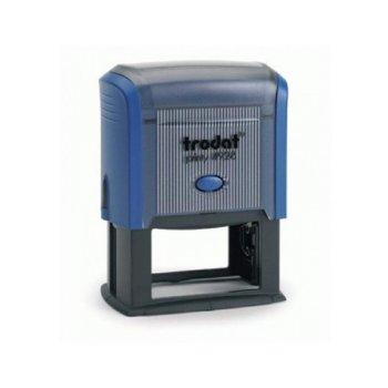 Автоматичен печат Trodat 4929 син, 50/30 mm, правоъгълен image