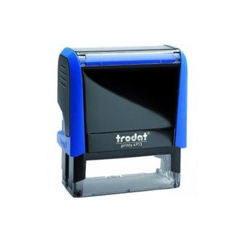 Автоматичен печат Trodat 4913 син, 22/58 mm, правоъгълен image