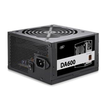 Захранване DeepCool DA600, 600W, Active PFC, 80+ Bronze, 120мм вентилатор image