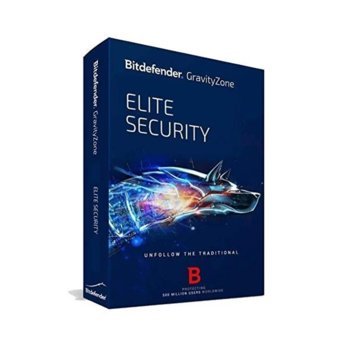 Софтуер Bitdefender GravityZone Elite, 50 -99 потребителя, 1 година image