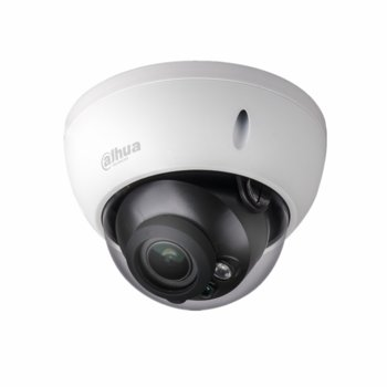 IP камера Dahua IPC-HDBW2431R-ZS, куполна камера, 4MPix(2688×1520@20fps), 2.7mm/3.5mm обектив, H.265/H.264H/MJPEG, IR осветеност (до 30 метра), външна IP67, IK10, PoE, RJ-45, Mirco SD слот image