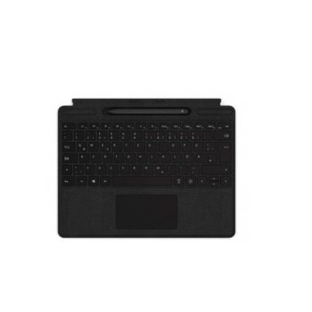 Клавиатура Microsoft Surface ProX Keyboard Pen K Black Bundel, за Microsoft Surface ProX, черна image