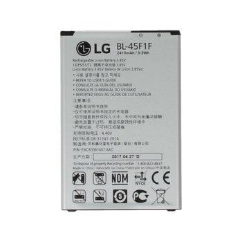 Батерия (оригинална) LG BL-45F1F за LG K8 2017 M200N, 2410mAh/3.85V image