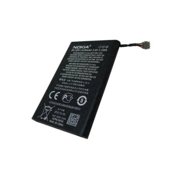 Батерия (oригинална) за Nokia N9, Lumia 800, 1450mAh, 3.8V, 5.5Wh image