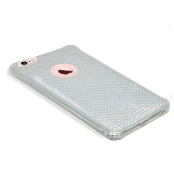 Страничен протектор с гръб Remax, TPU материал, за Apple iPhone 6 Plus и iPhone 6S Plus, прозрачен image