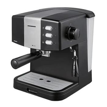 Кафемашина Heinner HEM-850BKSL, 850W, 15 bar, капацитет на резервоара за вода 1.5л., двоен филтър от неръждаема стомана, черна image
