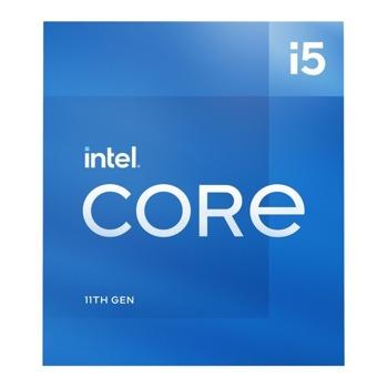 Процесор Intel Core i5-11400, шестядрен (2.6/4.4 GHz, 12MB, 1300MHz графична честота, LGA1200) Tray, без охлаждане image
