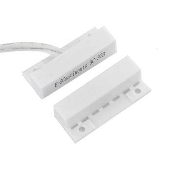 Магнитен датчик (мук) правоъгълен за повърхностен монтаж, ABS материал, бял image