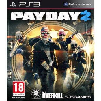 Игра за конзола Payday 2, за PlayStation 3 image