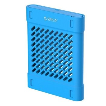 Силиконово защитно калъфче за 2.5-инчови HDD/SSD Orico PHS-25-BL, син image