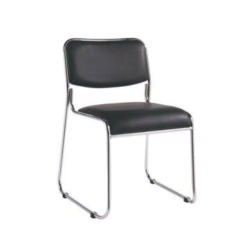 Посетителски стол RFG Axo M, черен, 5 броя в комплект image