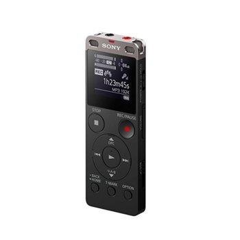 Диктофон Sony ICD-UX560, 4GB Flash памет, USB, MicroSD слот, LPCM/MP3/AAC/WMA, черен image