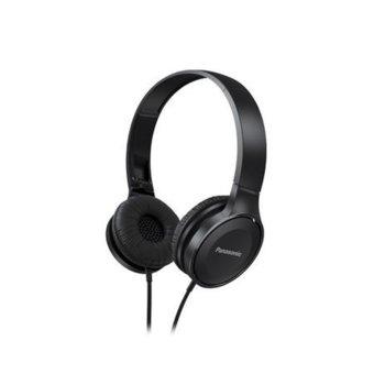 Слушалки Panasonic RP-HF100E-K, черни image