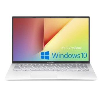 "Лаптоп Asus VivoBook 15 X512JA-BQ035T (90NB0QU2-M14940)(сребрист), четириядрен Ice Lake Intel Core i5-1035G1 1.0/3.6 GHz, 15.6"" (39.62 cm) Full HD IPS Anti-Glare Display, (HDMI), 8GB DDR4, 512GB SSD, Windows 10 Home image"