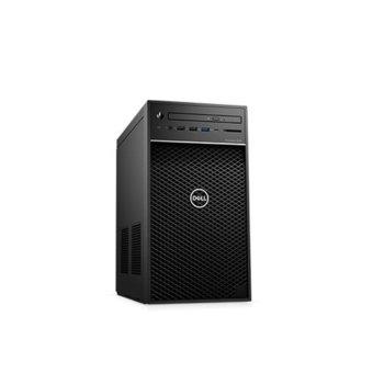 Настолен компютър Dell Precision 3630 Tower (#DELL02607), осемядрен Coffee Lake Intel Core i7-9700K 3.6/4.9 GHz, NVIDIA Quadro P2000 5GB, 512GB SSD & 1TB HDD, 5x USB 3.1, клавиатура и мишка, Windows 10 Pro image