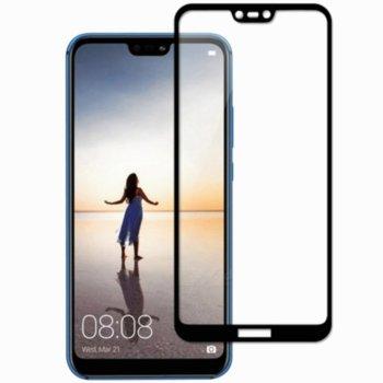 Протектор от закалено стъкло /Tempered Glass/ за Huawei Y5, черна рамка image