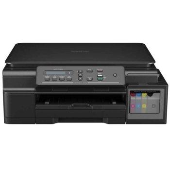 Мултифункционално мастиленоструйно устройство Brother DCP-T300, цветен принтер/скенер/копир, 6000x1200 dpi, 27стр/мин, USB, A4 image