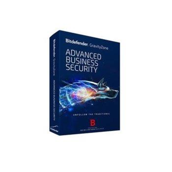 Софтуер Bitdefender GravityZone Advanced Business Security, 5 - 14 потребителя, 1 година image