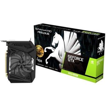 Видео карта nVidia GeForce GTX 1650 SUPER, 4GB, Gainward GeForce GTX 1650 SUPER Pegasus OC, PCI-E 3.0, GDDR6, 192bit, DisplayPort, HDMI, DVI image
