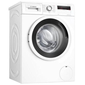 Перална машина Bosch WAN24164BY, клас C, 8 кг. капацитет, 1200 оборота в минута, свободностояща с Възможност за вграждане, 59.8 cm. ширина, EcoSilence Drive, TouchControl, 3D-AquaSpar система, бяла image